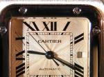 Cartier Santos de Cartier Galbée Large Steel