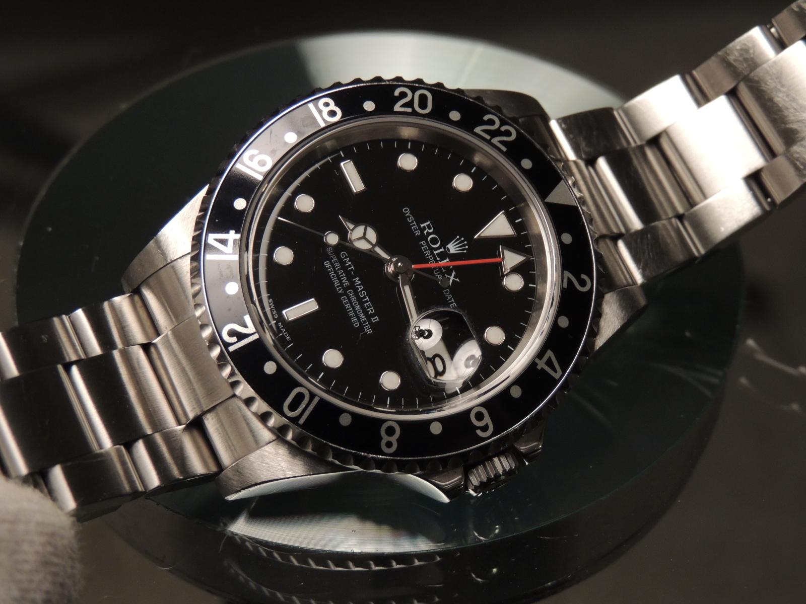GMT: Rolex GMT Master II 16710 LN