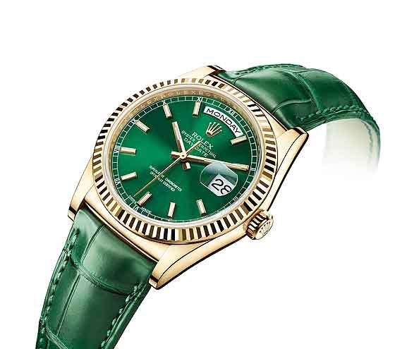 Rolex_Day-Date_Yellow_gold-Green_560